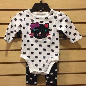 Other - Sz o-3 mo Baby Girl 2PC Set